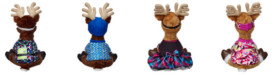 reindeer outfits buildabear