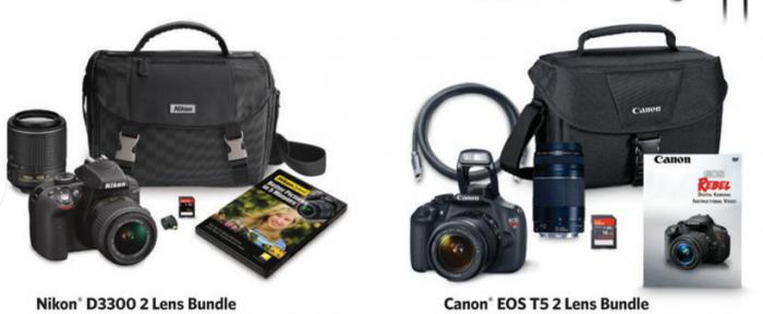 sams club camera bundles