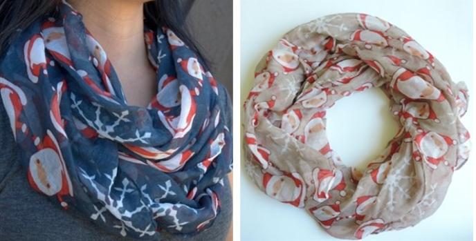 santa scarves
