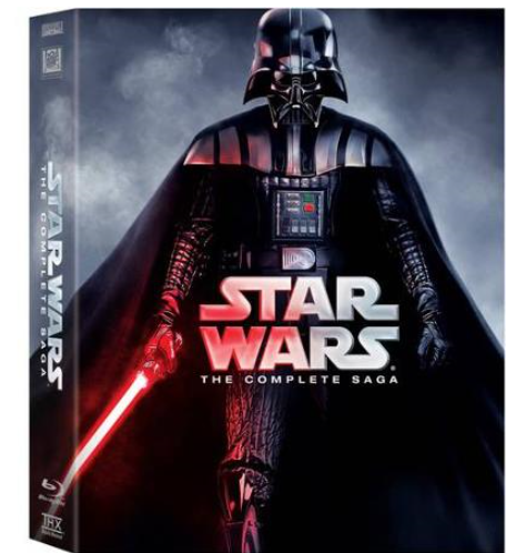 star wars blurays