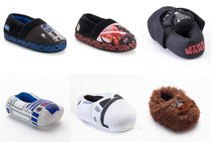 star wars slippers