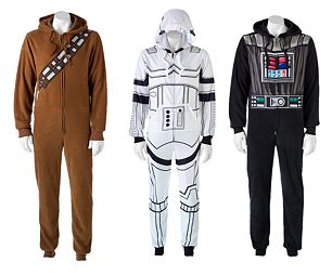 Kohl's: Star Wars Men's Union Suit Pajamas for $14 Shipped ...