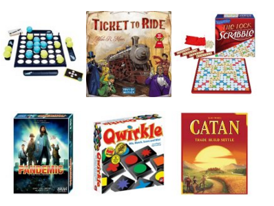 target 25 off board games