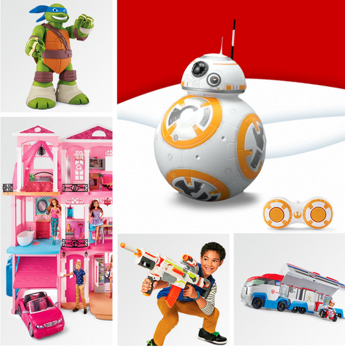 target toy deals collage