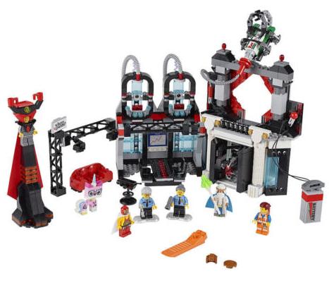 the lego movie evil lair