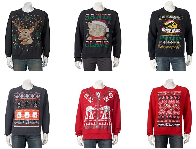 ugly Christmas sweaters mens