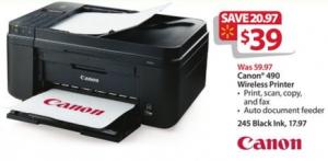 walmart bf ad canon printer