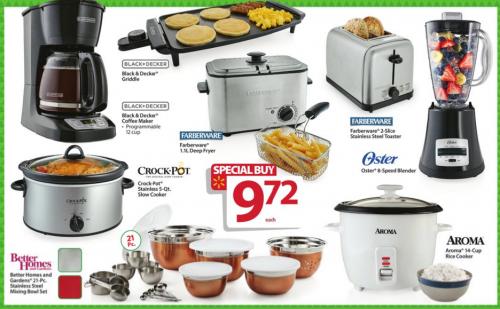 walmart bf ad kitchen items