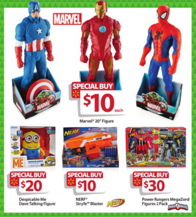 walmart bf ad marvel toys