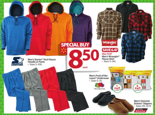 walmart bf ad mens clothing