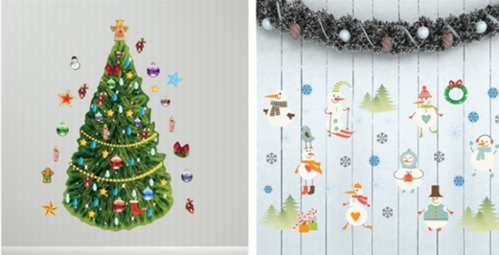winter interactive wall play