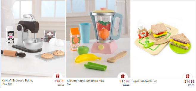 zulily kidkraft kitchen accessories