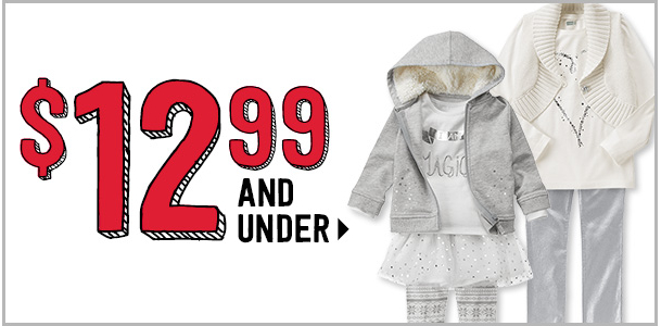 12.99 and under crazy 8