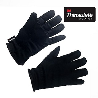 3M Thinsulate Insulated Cinched Wrist Gloves