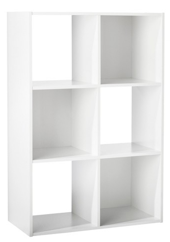 6-Cube Organizer Shelf - White - Room Essentials