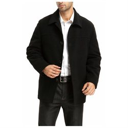 BGSD Men's 'Matthew' Wool Blend Car Coat