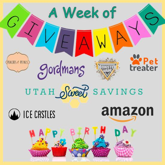 Birthday Week Giveaway