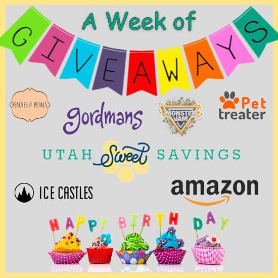 Birthday Week Giveaway