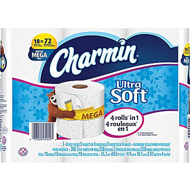 Charmin Ultra Soft or Ultra Strong Toilet Paper