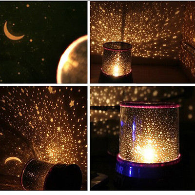 Color Twilight Stars Star Master Beauty Projector Night Light Lamp