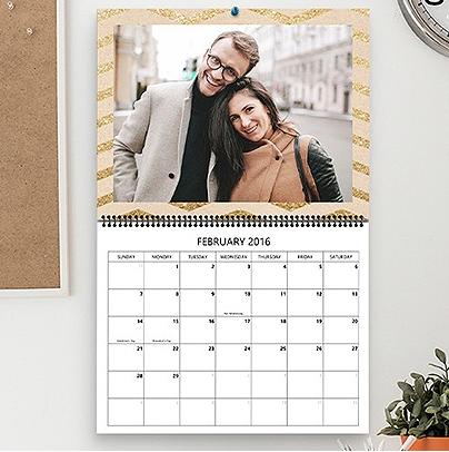 Custom Photo Calendars from Staples