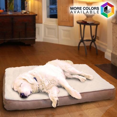 Faux-Sheepskin Orthopedic Pet Mattress