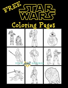 Free Start Wars Coloring Pages 2