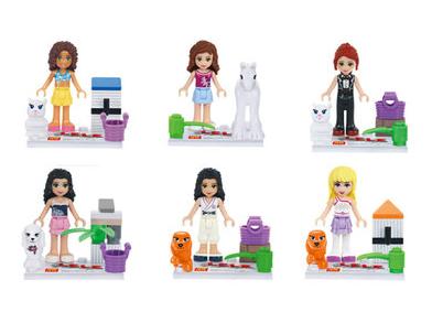 Girls LEGO figures