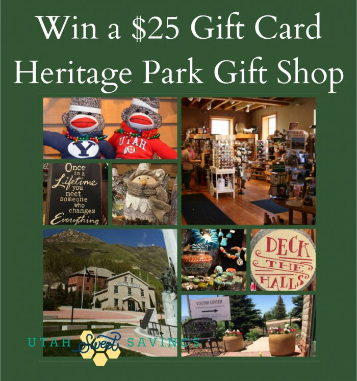 Enter to Win a $25 Gift Card to Heritage Park Gift Shop