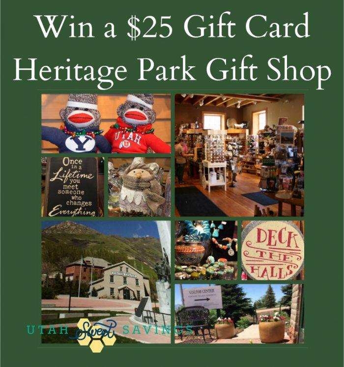 Heritage Park Gift Shop Giveaway