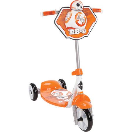 Huffy Boys' STAR WARS Episode VII BB-8 3-Wheel Preschool Scooter