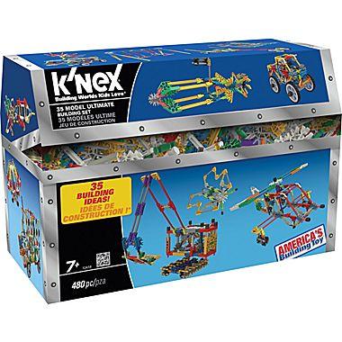 K'NEX Plastic 35 Model Ultimate Building Set