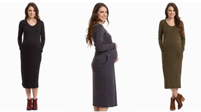 Maternity Midi Dresses