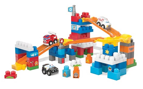 Mega Bloks First Builders Fast Tracks Deluxe Rescue Center