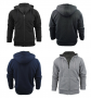 Men's Heavy Sherpa Lined Zip Up Hoodie M-2X