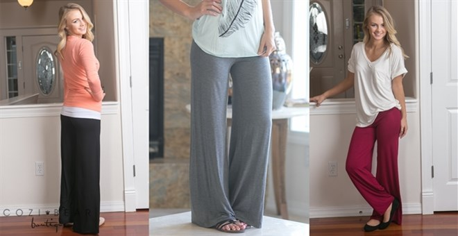 Must Have Modal Palazzo Pants