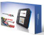 Nintendo 2DS with Mario Kart 7 Game