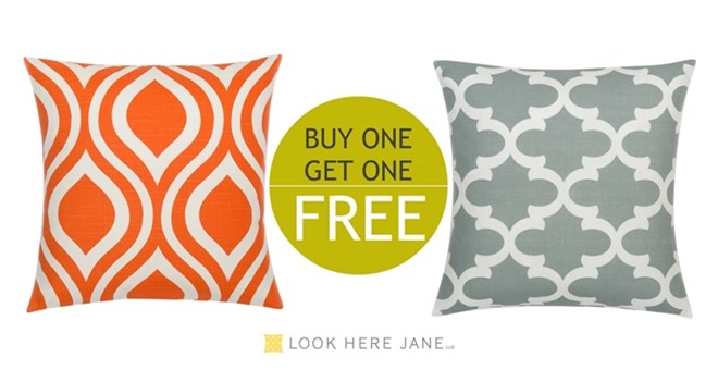 Pillow covers-Buy One, Get One FREE