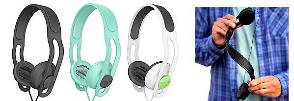 Polk Audio BOOM Swap Water-Resistant Over-Ear Headphones
