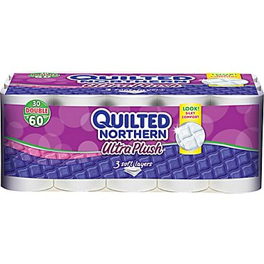 Quilted Northern Ultra Plush Three-Ply Bathroom Tissue