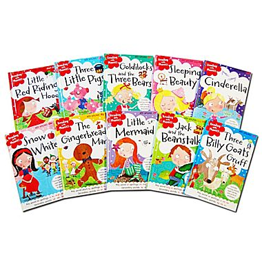 Reading with Phonics Classic Fairytale Collection 10 Book Set 1