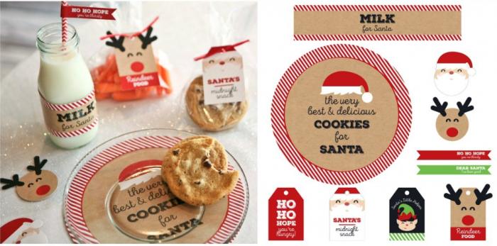 Santa's Milk and Cookies Kit