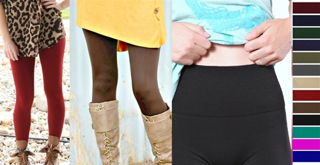 Slimming + Tummy Control + High Waist Leggings