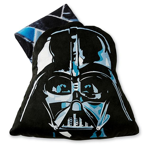 Star Wars Darth Vader Big Face Pillow with Throw