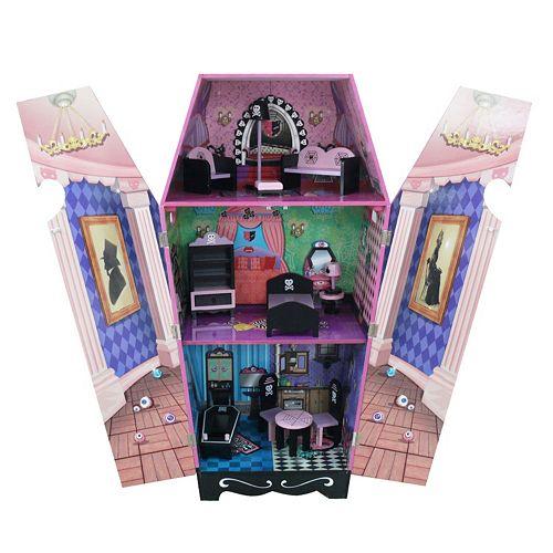 Teamson Kids Vampire Villa Coffin Dollhouse