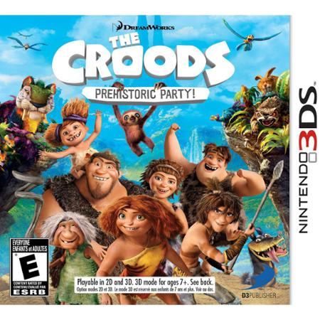 The Croods Prehistoric Party (Nintendo 3DS)