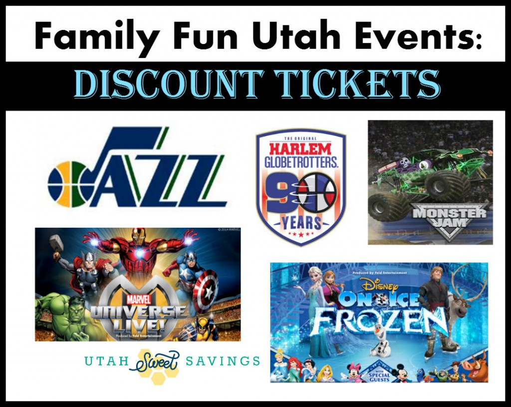 Utah Events Discounts