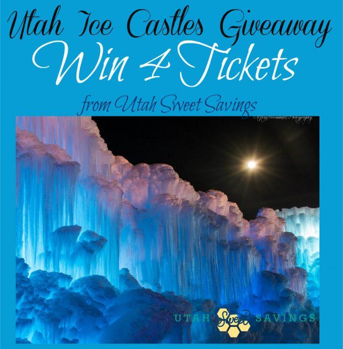 Utah Ice Castles Giveaway 2015