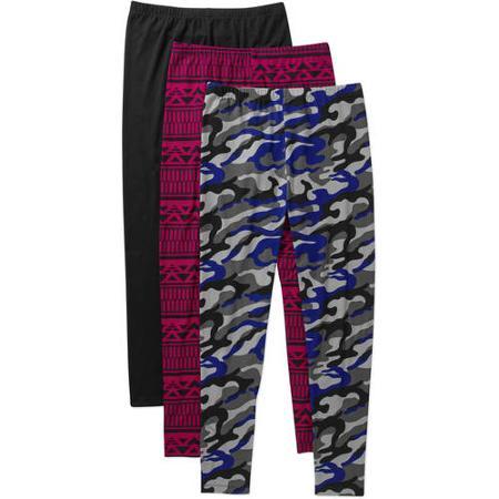 Women's Yummy Jersey Knit Legging 3-Pack