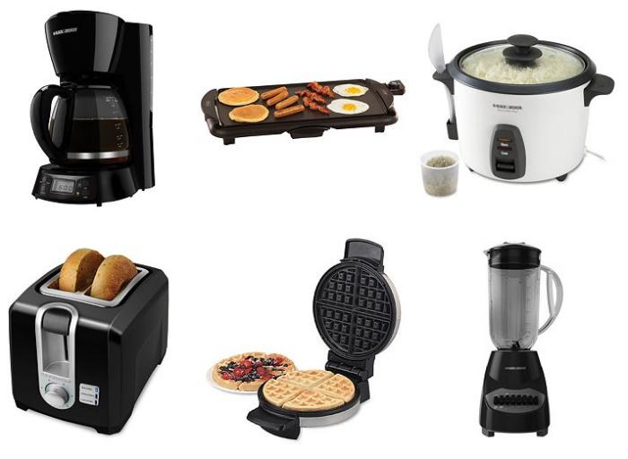 black & Decker & Bella appliances kohls